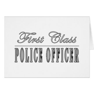 Cartes Policiers : Policier de première classe
