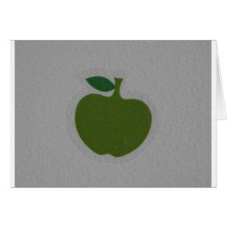 Cartes pomme verte