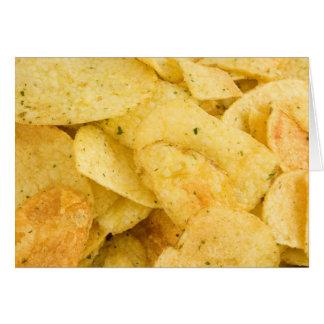 Cartes Pommes chips