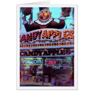Cartes Pommes de sucrerie