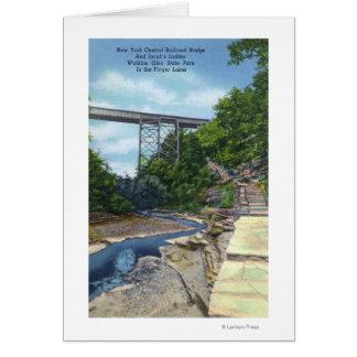Cartes Pont central de NY rr, l'échelle de Jacob