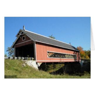 Cartes Pont couvert le comté d'Ashtabula Ohio de Netcher