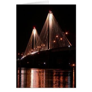 Cartes Pont de Clark, Alton, l'Illinois
