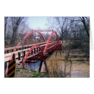 Cartes Pont de gaffe, le comté de Warrick, Indiana