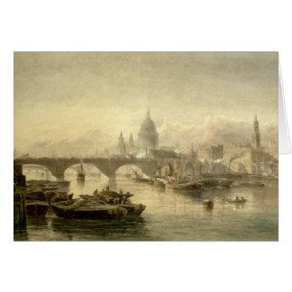 Cartes Pont de la cathédrale et de Londres de St Paul du