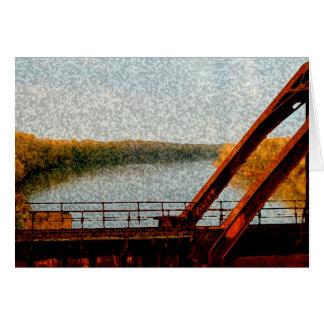 Cartes Pont en chemin de fer