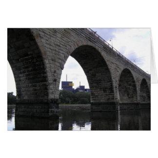Cartes Pont en pierre de voûte