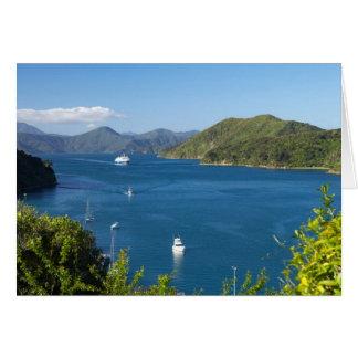Cartes Port de Picton, bruits de Marlborough, sud