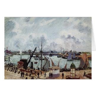 Cartes Port externe de Camille Pissarro- du Havre