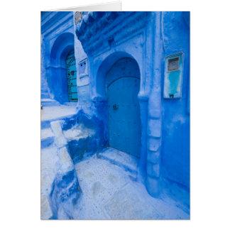 Cartes Porte bleue de ville