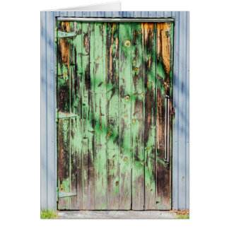Cartes Porte rustique