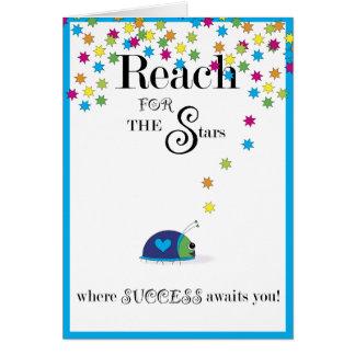 Cartes Portée pour le succès d'étoiles