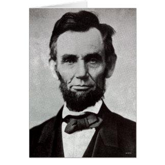 Cartes Portrait d'Abe Lincoln 2