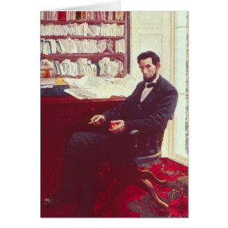 Cartes Portrait d'Abraham Lincoln