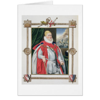 Cartes Portrait de 1536-1624) 2èmes barons o de Charles