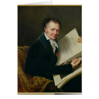Cartes Portrait de baron Denon, 1808 de Dominique Vivant