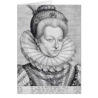 Cartes Portrait de Catherine Henriette