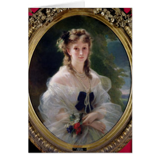 Cartes Portrait de comtesse de Sophie Troubetskoy de