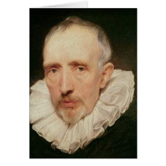Cartes Portrait de Cornelis van der Geest, c.1620