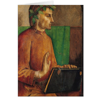 Cartes Portrait de Dante Alighieri, c.1475