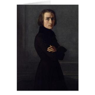 Cartes Portrait de Franz Liszt 1839