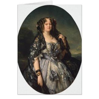 Cartes Portrait de Franz Winterhalter- de Sophia
