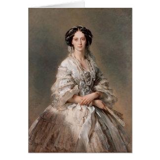 Cartes Portrait de Franz Winterhalter- d'impératrice