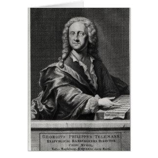 Cartes Portrait de Georg Philipp Telemann