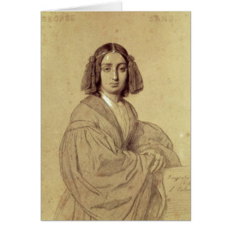 Cartes Portrait de George Sand 1837