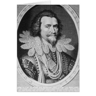Cartes Portrait de George Villiers
