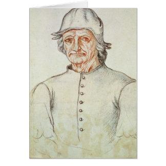 Cartes Portrait de Hieronymus Bosch