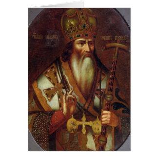 Cartes Portrait de Joachim, patriarche de Moscou