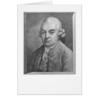 Cartes Portrait de Karl Philipp Emanuel Bach (1714-88) (e