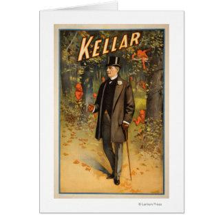 Cartes Portrait de Kellar avec l'affiche promotionnelle