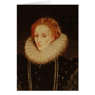 Cartes Portrait de la Reine Elizabeth I