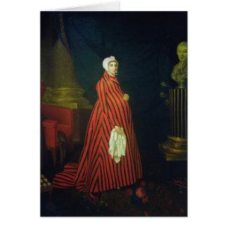 Cartes Portrait de l'actrice et du Praskovya