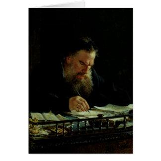 Cartes Portrait de Lev Tolstoy