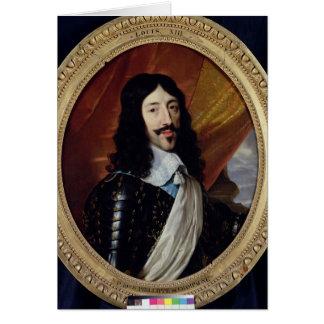 Cartes Portrait de Louis XIII après 1610