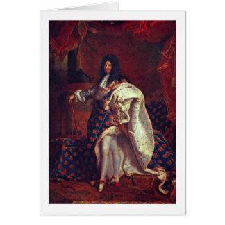 Cartes Portrait de Louis Xiv par Hyacinthe Rigaud