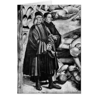 Cartes Portrait de Luca Signorelli et d'ATF Angelico