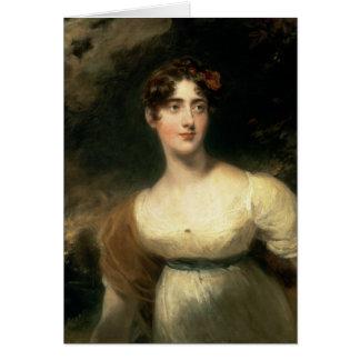 Cartes Portrait de Madame Emily Harriet