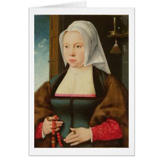 Cartes Portrait de Madame inconnue, 1527 (huile sur le