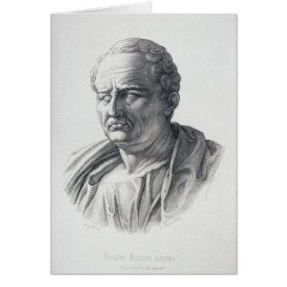 Cartes Portrait de Marcus Tullius Cicero