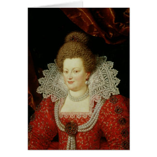 Cartes Portrait de Marie de Medici