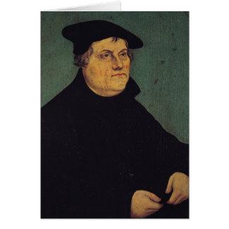 Cartes Portrait de Martin Luther 1543