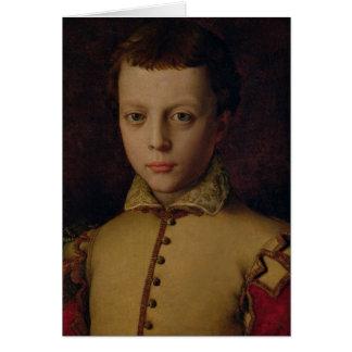 Cartes Portrait de Medici de Ferdinando