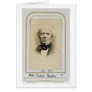 Cartes Portrait de Michael Faraday (1791-1867) (albumen p