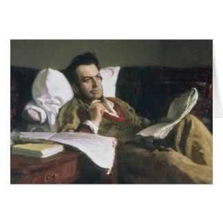 Cartes Portrait de Mikhail Glinka