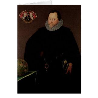 Cartes Portrait de monsieur Francis Drake 1591