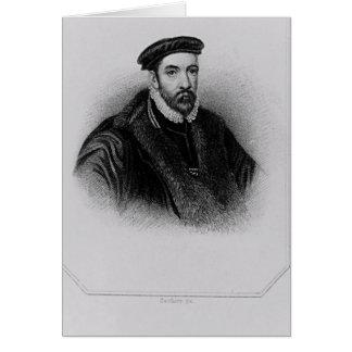 Cartes Portrait de monsieur Nicholas Bacon